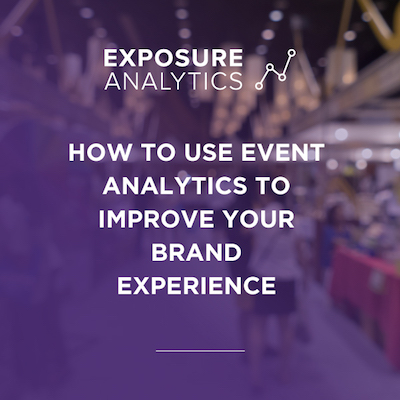event analytics to improve brand experience