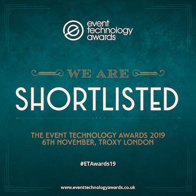 shortlisted event technology award